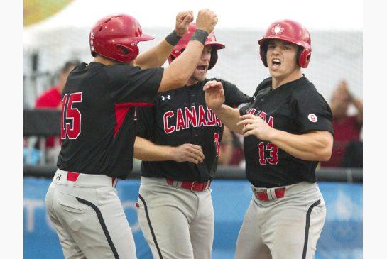 Hill shines, O'Neill homers as Canada tops Cuba