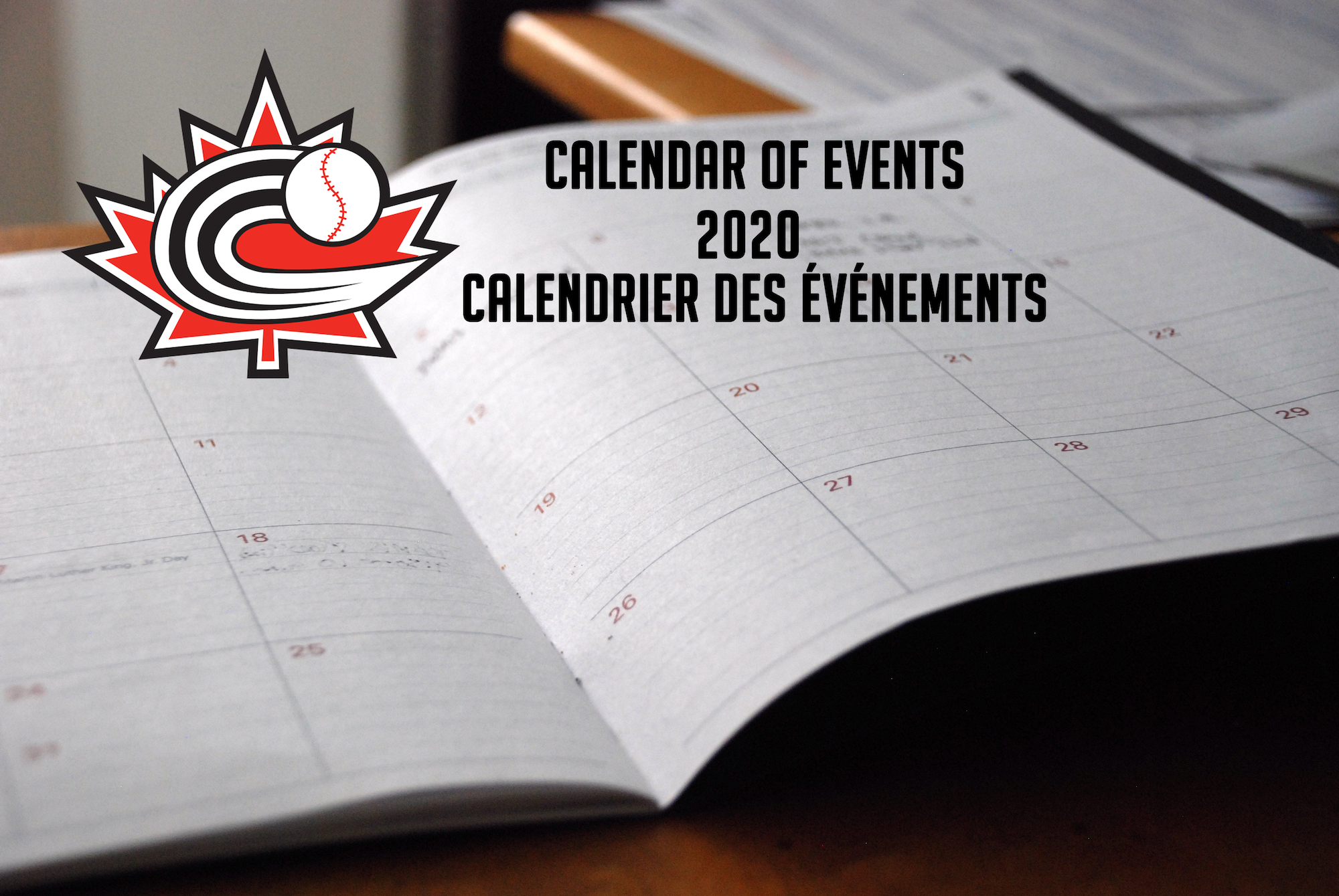 Baseball Canada announces 2020 Calendar of Events
