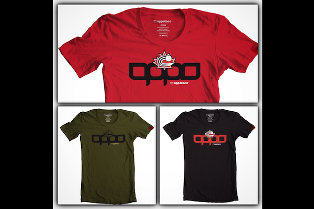 OPPOTACO Baseball Canada T-shirts now available!