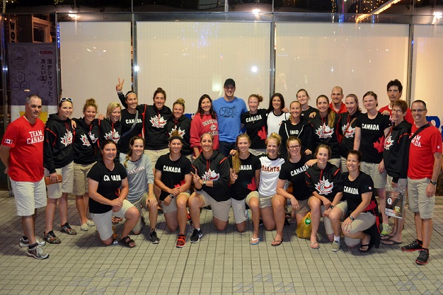 Scott Mathieson shares Japanese experience with Women's National Team